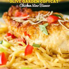 Olive Garden Copycat Chicken Vino Bianco