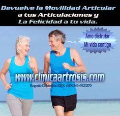 Tratamientos para la limitación, dolor, inflamación efectivos para todas las edades.  Clínica de Artrosis y Osteoporosis www.clinicaartrosis.com PBX: +571-6836020, Teléfono Movil: +57-3142448344 en Bogotá - Colombia. #tratamientosartrosis #artrosissincirugia #medicinaregenerativa #artrosis #clinicaartrosis #clinicaosteoporosis #artrosiscolombia #osteoporosiscolombia #osteoporosis #expertosartrosis #especialistasartrosis #expertososteoporosis #especialistasosteoporosis…