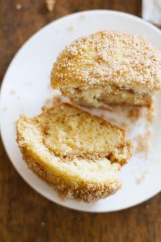 Coffee Cake Muffins (substitute flour & sugar)