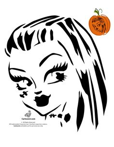 Printable cute dracula face vampires halloween for Vampire teeth pumpkin stencils