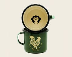 Howler Camp Mug - Dawn Patrol Deep Green