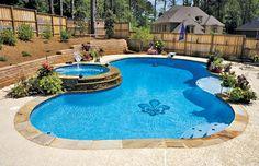 Pool Mosaics built by Blue Haven Pools
