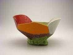 Bowl made by ceramic artist John Gill.