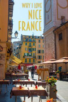 Why I Love Nice, France on ASpicyPerspective.com #travel #nicefrance #france