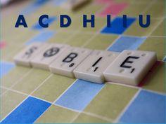 ScrabbleSfera: 7 litere (4) Scrabble, Usb Flash Drive, Blog, School, Blogging, Usb Drive