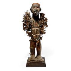 Kongo-Yombe Power Figure, Democratic Republic of the Congo Royal Academy Of Arts, Art Auction, Republic Of The Congo, African Art, Occult, Ocean, Statue, Fine Art, October 10