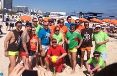 Celebrity Chefs Wear Scandalously Short Shorts, Play Volleyball For Charity