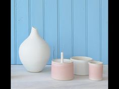 Sue Ure's handmade ceramics, perfect simplicity in a range of beautiful colours. Love these, especially for Valentine's Day. Please use the contact details in the link for handmade items. Mid Century Design, Contemporary Interior, Things To Think About, Handmade Items, Range, Colours, Ceramics, Link, Beautiful