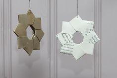Uglesnurreri: Stjerner i papir DIY / Star in paper DIY