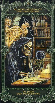 Alchemy 1977 England Tarot- The Hierophant | Flickr - Photo Sharing!