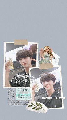 Polaroid Template, Kpop Fanart, Photo Wallpaper, Wall Quotes, Lock Screen Wallpaper, Kpop Groups, Cute Wallpapers, Aesthetic Wallpapers, 1