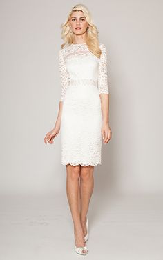 i just found a city hall wedding dress for my best friend. it's literally perfection, @Kay Richards Richards Xiong !!
