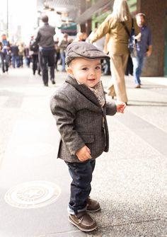 best dressed little boy i ever saw !