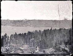 1851 Tepebaşından Kasımpaşa ve Haliç.