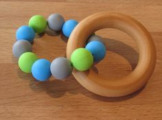 Your place to buy and sell all things handmade Wooden Rings, Teething, Food Grade, Bees, Hardwood, Natural, How To Make, Beautiful, Wood Rings
