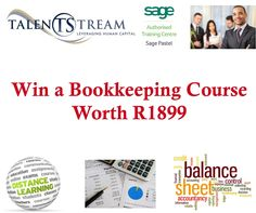 Win a Bookkeeping Fundamentals Course Bookkeeping Course, Competition Giveaway, Balance Sheet, Training Center, Giveaways, Accounting, Study, Learning, Words
