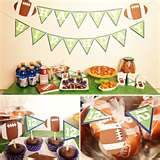 Image detail for -Football Themed Birthday Party Ideas For Boys Photo 3