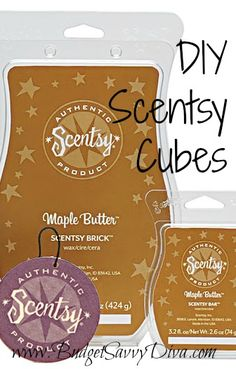 Make Your Own Scentsy Cubes (if you want to  make your own or make the candles you have stronger, LOTS of winter/holiday scent oils can be found at brambleberry . com )