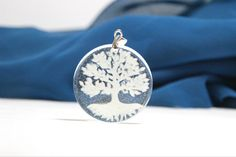 Breastmilk Tree of life pendant via beyondthewillowtree. Click on the image to see more!