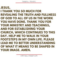 Here's a great batch of 30 thankful prayers for you. We are given so much, often times we focus on what we don't have or what we want, instead of being thankful for all that we have. These 30 short prayers will help you foster a thankful heart. Thankful Prayers, Prayers Of Gratitude, Short Prayers, Thankful Heart, Thanksgiving Prayers For Family, Prayer For Family, Prayer For You, Daily Prayer, Trust In Jesus