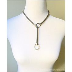 Silver #lariat. Adjustable #necklace great for day or #eveningwear. @ LEXYAiR I.N.C. #JEWELRY #silverjewelry #unisex