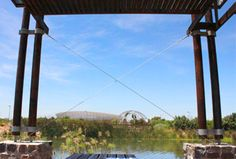 A legacy in Green Point Park - Contour Decks and Tensile Cables   www.tensilecables.co.za