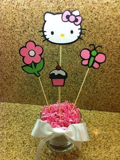 Hello Kitty Centerpiece on Etsy, $10.00