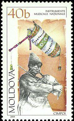 Moldavia (Rumanía). El Cimpoi es un tubo muy antiguo, y hasta hace poco considerado por muchos como extinta.