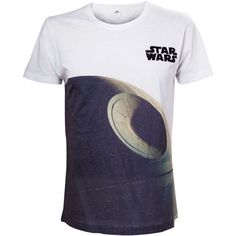 Star Wars Adult Male Death Star T-shirt Extra This white premium quality t-shirt is made from cotton for a long lasting fit is professionally stitched and has a officially licensed merchandise design inspired by the popular movie series.Features- http://www.MightGet.com/march-2017-1/star-wars-adult-male-death-star-t-shirt-extra.asp