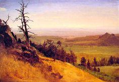 Bierstadt Yosemite Denver Museum | Newbraska Wasatch Mountains, 1859 by Albert Bierstadt