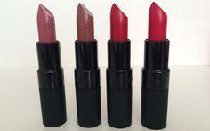 Gosh Cosmetics Velvet Touch Matte Lipsticks