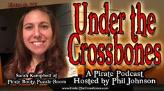 Escape room creator Sarah Kambell tells us about her huge #pirate themed puzzle room happening Nov 24-26 in Chicago, IL.  Plus #shipwrecks ! http://www.underthecrossbones.com/utc-117-sarah-kampbell-pirate-booty/