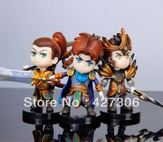 League of Legends LOL Garen Xin Zhao Jarven IV PVC Action Figure Free Shipping
