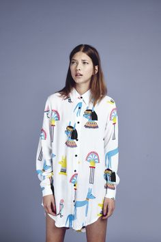 Lazy Oaf Egyptian Shirt http://www.lazyoaf.com/lazy-oaf-egyptian-shirt-2