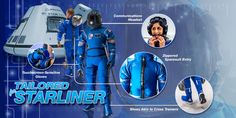 NASA Unveils New High Tech Space Suits http://techgenez.com/nasa-unveils-new-high-tech-space-suits/