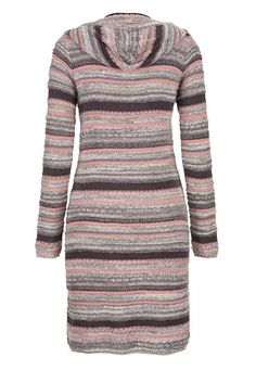 tunic cardigan with stripes and hood - maurices.com