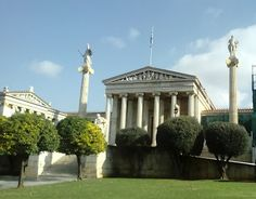Academy of Athens, Life In Greece: Athens Capital City, Athens, Greece, Lovers, Places, Blog, Photos, Life, Greece Country