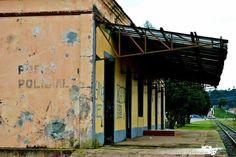 Estação Ferroviária inativa - São Bento do Sul