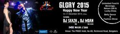Glory New Year 2015 in Bangalore on December 31, 2014