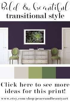 Closet: 105 photos and models for all styles - Home Fashion Trend Beige Living Rooms, Living Room Green, Transitional Living Rooms, Room Colors, House Colors, Modern Tropical House, House Color Palettes, Natural Bedroom, Purple Rooms