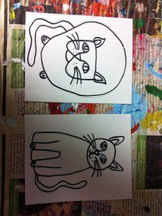 ChumleyScobey Art Room: Kindergarten Art Book!