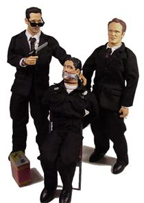 Resevoir Dogs Action Figure   Reservoir Dogs action figures group picture