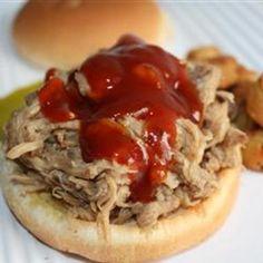 Sarges EZ Pulled Pork BBQ