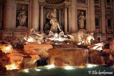 TreviFountain in Rome.  Where they filmed part of Under the Tuscun Sun.  Bucket list.