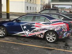 Nice ride #Patriots
