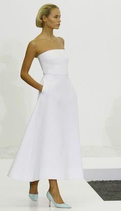 Jil Sander Ss2017 White Dressshort