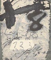 Informal, 1987 by Antoni Tàpies