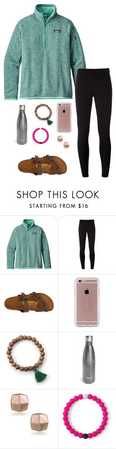 """It feels like summer here 😒"" by eadurbala08 ❤ liked on Polyvore featuring Patagonia, NIKE, Birkenstock, Speck, S'well, Trina Turk and Lokai"