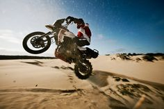 Triumph Tiger 800XC vs. The Dunes (+Playlist)