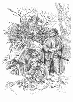 Lord Of the Rings Coloring Book Inspirational Frodo Y Sam by Nachocastro On Deviantart Tolkien, Coloring Pages To Print, Coloring Book Pages, John Howe, Character Sketches, Colorful Drawings, Middle Earth, Lord Of The Rings, The Hobbit